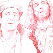 """Gibson & Jesus, 11 x 14"""""""